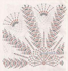 Вязаные крючком салфетки. Работы Анжелики Романюк вязание и схемы вязания