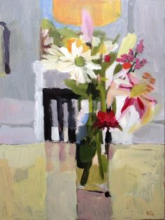 ngruskin: Nancy Gruskin, Present from H. acrylic on panel, Painting Still Life, Still Life Art, Paintings I Love, Mini Paintings, Flower Paintings, Painting & Drawing, Watercolor Paintings, Acrylic Paintings, Landscape Paintings