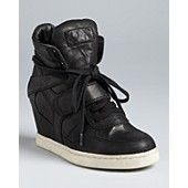 Ash Wedge Sneakers - For us petite gals, this new sneaker style is a god-send.