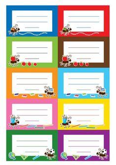 Füzetcímke, órarend, könyvjelző, motivációs kártyák. Ingyenes nyomtatható iskolakezdő csomag | Szépítők Magazin School