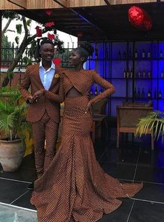 African Wedding Attire, African Attire, African Wear, African Dress, African Weddings, African Style, African Prom Dresses, African Fashion Dresses, African Print Fashion