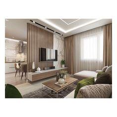 Small Apartment Interior, Apartment Design, Living Room Interior, Living Room Decor, Living Room Partition Design, Living Room Tv Unit Designs, Classy Living Room, Minimalist Dining Room, Home Room Design