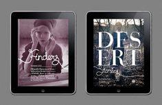 Finders iPad Magazine by Antonny Sugianto, via Behance.....biiiiiiig type on the cover