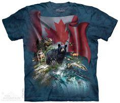 The Mountain Canada T-shirt | Canada The Beautiful