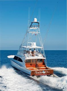 Because of Jim Smith's penchant for building racing boats in his early days, Jim Smith sport-fishing boats were, for a long time, looked at as primarily go-fast boats.