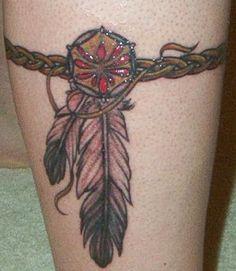 indian bracelet tattoo