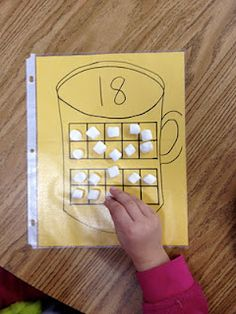 Hot Cocoa Math - Tens Frame