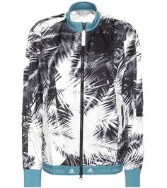 Adidas by Stella McCartney Run Palm Print Jacket For Spring-Summer 2017