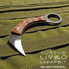 Bladetricks Custom made Limbo Karambit #knife #tactical #MOLLE