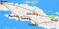 Tour Caribe Cuba Havana Playa Larga Cienfuegos Trinidad www.tropicalcubanholiday.com