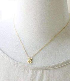 Necklace - Dainty Feminine Baby Bee Necklace Bee Necklace, Dainty Necklace, Gold Necklace, Pendant Necklace, Angel Wing Earrings, Girls Necklaces, Minimalist Jewelry, Gifts For Friends, Women Jewelry