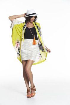 Augustine Sparkle Arrow Skirt