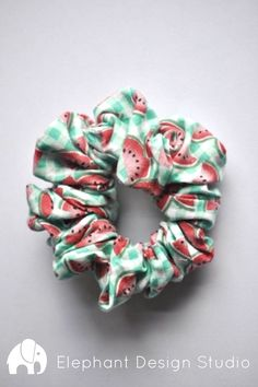 Your place to buy and sell all things handmade Excited to share the latest addition to my shop: Watermelon and Green Gingham Scrunchie-Handmade-Hair Accessory-Hair Fashion-Vintage-Costume-Bun-Ponytail Scrunchies, Tie Dye Hair, Hair Ties, Holiday Hairstyles, Up Hairstyles, Fashion Vintage, 80s Fashion, Road Trip Outfit, Fru Fru