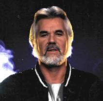 Kenny Rogers - before his plastic surgery. Now, why would he go mess up this face?
