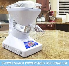 Little Snowie 2 Ice Shaver Bundle - Premium Shaved Ice Machine and Snow Cone Machine with Snowcone Syrup Samples, Drip Pan, Souvenir Cups and Spoons Snow Cone Syrup, Snow Cones, Margarita Machine, Snow Cone Machine, Ice Shavers, Sorbet Ice Cream, Blender Recipes, New Inventions, Specialty Appliances