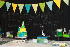 My son's Mad Science 7th Birthday Party