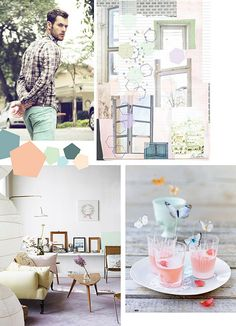 Minty Fresh by decor8, via Flickr drink butterfly