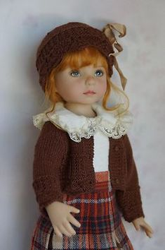 """Effner 13"""" Little Darling McCall BJD Absolutely Autumn by Ladybugs Doll Design 