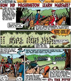 SOLutions: How did George Washington learn warfare?