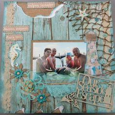 Our Seaside Escape - Scrapbook.com #scrapbookprintables