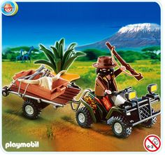 PLAYMOBIL® Ranger with Quad Bike and Trailer $15.99