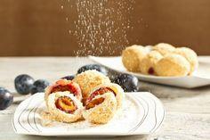 Recipe of the week: Hungarian plum dumplings Plum Dumplings, Food Porn, Czech Recipes, Hungarian Recipes, Hungarian Food, Dumpling Recipe, Cooking Classes, Food And Drink, Veggies