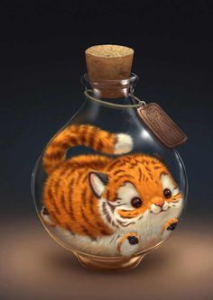 Little Tiger – # little – niedlich – Katzen - New Sites Pet Anime, Anime Animals, Animals And Pets, Anime Art, Animals Images, Cute Animal Drawings, Kawaii Drawings, Cute Drawings, Drawing Animals