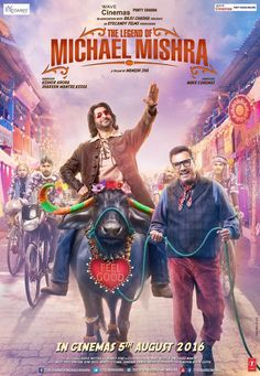 Check out The 1st poster of my new film #ThelegendofMichaelMishra! #ArshadWarsi #BomanIrani #AditiRaoHydari