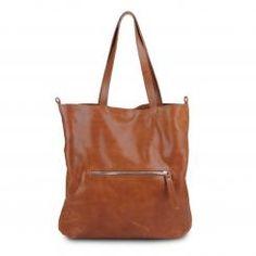 Caroline (cognac) Leather Accessories, Marni, Yellow, Blue, Handbags, Tote Bag, Brown, Cotton, Red