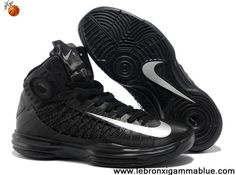 Buy 2013 New Nike Lunar Hyperdunk 2013 Black Metallic Silver Your Best Choice