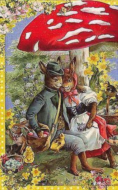 Vintage Easter Images In German