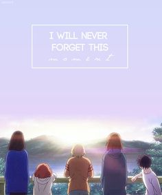 This Anime though.  Wonderful colors and animation, amazing storyline, definitely a favorite!  Blue Spring Ride
