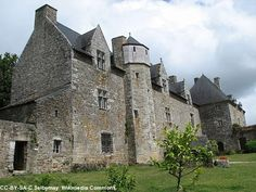 Chateau Plessis-Josso, Theix, just east of Vannes, Morbihan, Bretagne.
