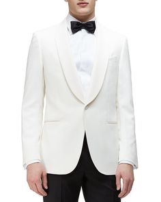 Ermenegildo Zegna Satin Evening Jacket | $1,998