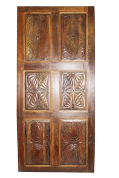 Unique Masterpiece of Handmade Vintage Door Panel Discover an amazing great Indian work of art designed out of great passion and creativity. Wooden Barn Doors, Rustic Doors, Rustic Barn, Door Design Interior, Interior Barn Doors, Indian Doors, Antique Doors, Rustic Interiors, Panel Doors