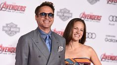 Robert Downey Jr. and Susan Downey at Avengers, Age of Ultron Premiere