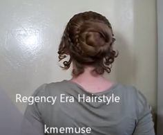 Screenshot from this video tutorial - pretty smooth braided bun.