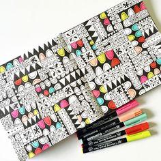 margarita by Lisa Congdon #pattern #art #journal #sketchbook