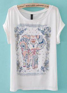 T-Shirt Elephant!! Não percam meninas