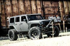 Full Metal Jacket: Starwood Motor's Jeep Wrangler - TREAD Magazine
