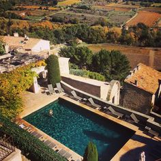 Bonne semaine a tous! #indiansummer #provence #relaischateaux #crillonlebrave #montventoux