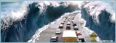 Surreal Traffic Facebook Cover