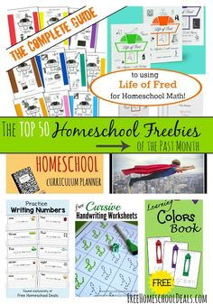 The TOP 50 Homeschool Freebies of the Past Month – January 2015 Edition! Curriculum Planner, Free Homeschool Curriculum, Homeschooling Resources, Planner Writing, Science, School Resources, The Help, School School, High School
