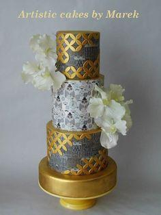 Gold - cake by Marek