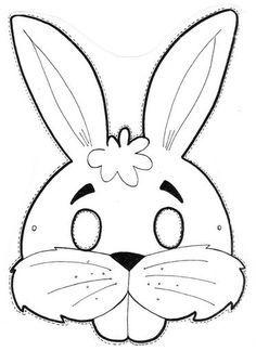 PAPÍR ÁLARCOK - kisferenc.qwqw.hu Felt Crafts, Diy And Crafts, Arts And Crafts, Paper Crafts, Easter Crafts For Kids, Diy For Kids, Bunny Mask, Diy Ostern, Animal Masks