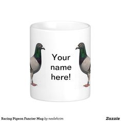 Racing Pigeon Fancier Mug