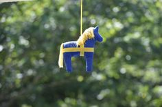 Team Sweden's Mascot at the Olympic Stables | Kit Houghton/FEI