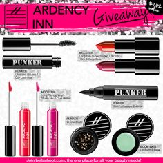 ARDENCY INN Makeup Collection Giveaway!