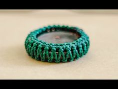 como engarzar piedra sin ranura en macrame / How to Wrap a Stone - YouTube