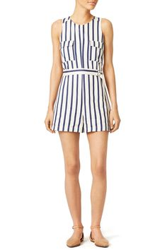 A Beach Vacation Packing List for Your Next Getaway Beach Vacation Packing List, Blue Candy, Rent The Runway, Candy Stripes, Destin Beach, Hemline, Rompers, Dresses, Spring 2016